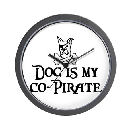 Co-Pirate Wall Clock