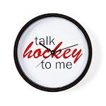 Talk hockey script Wall Clock