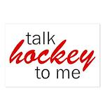 Talk hockey script Postcards (Package of 8)