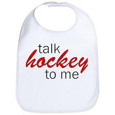 Talk hockey script Bib