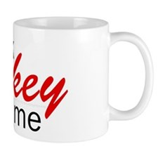 Talk hockey script Mug
