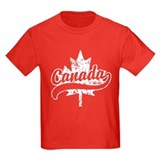 Canada Kids T-shirts (Dark)