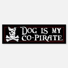 Co-Pirate Bumper Bumper Sticker
