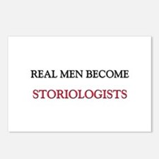 Real Men Become Storiologists Postcards (Package o