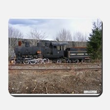 Mouse Pad Comox Logging train #11