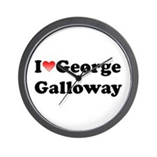 I Love Galloway Wall Clock