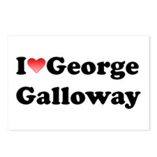 I Love Galloway Postcards (Package of 8)