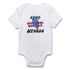 reno nevada - been there, done that Infant Bodysui