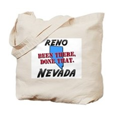 reno nevada - been there, done that Tote Bag
