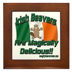 Irish Beavers Are Magically Framed Tile