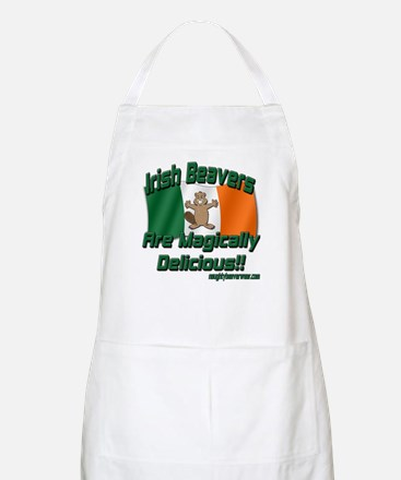Irish Beavers Are Magically BBQ Apron