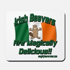 Irish Beavers Are Magically Mousepad