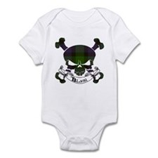 Blair Tartan Skull Infant Bodysuit