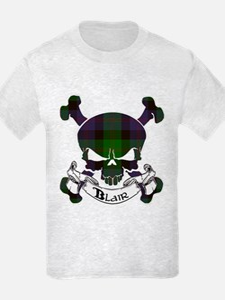 Blair Tartan Skull T-Shirt