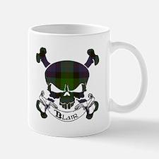 Blair Tartan Skull Mug