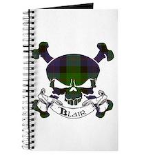 Blair Tartan Skull Journal