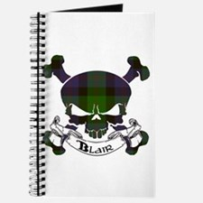 Blair Tartan Skull Journal