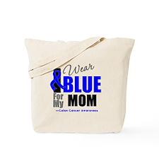 IWearBlue Mom Tote Bag