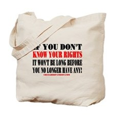 KNOW YOUR RIGHTS! Tote Bag