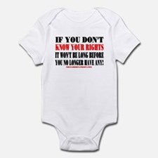KNOW YOUR RIGHTS! Infant Bodysuit
