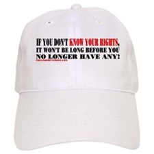 KNOW YOUR RIGHTS! Baseball Cap