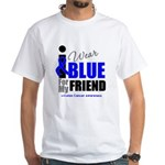 IWearBlue Friend White T-Shirt