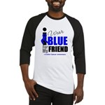 IWearBlue Friend Baseball Jersey