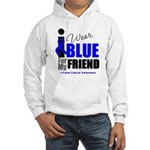 IWearBlue Friend Hooded Sweatshirt