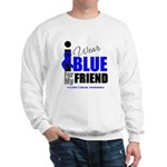 IWearBlue Friend Sweatshirt
