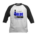 IWearBlue Friend Kids Baseball Jersey