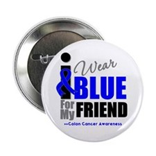 "IWearBlue Friend 2.25"" Button"