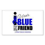 IWearBlue Friend Rectangle Sticker 10 pk)