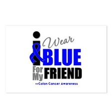 IWearBlue Friend Postcards (Package of 8)