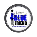 IWearBlue Friend Wall Clock