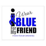 IWearBlue Friend Small Poster