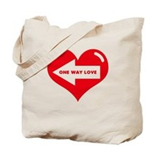 ONE WAY LOVE Tote Bag