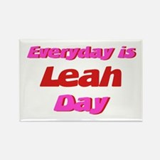 Everyday is Leah Day Rectangle Magnet