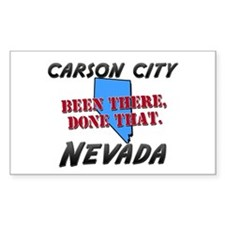 carson city nevada - been there, done that Decal