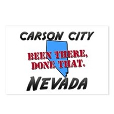 carson city nevada - been there, done that Postcar