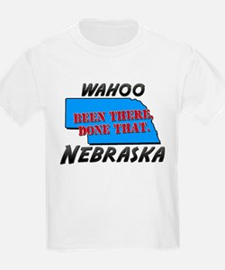 wahoo nebraska - been there, done that T-Shirt