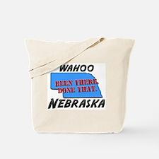 wahoo nebraska - been there, done that Tote Bag