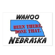 wahoo nebraska - been there, done that Postcards (