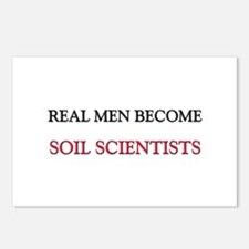 Real Men Become Soil Scientists Postcards (Package