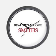 Real Men Become Smiths Wall Clock