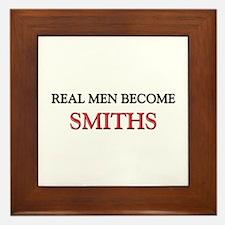 Real Men Become Smiths Framed Tile