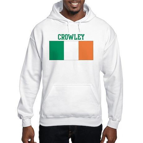 Crowley (ireland flag) Hooded Sweatshirt