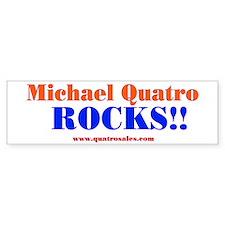 Quatro Rocks Bumper Bumper Sticker