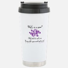 What's in a Name Stainless Steel Travel Mug