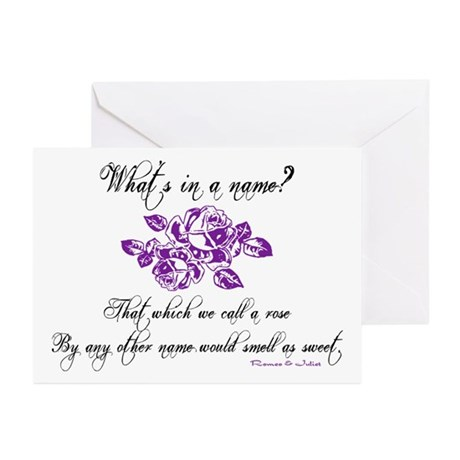What's in a Name Greeting Cards (Pk of 10)