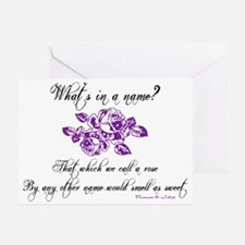 What's in a Name Greeting Card